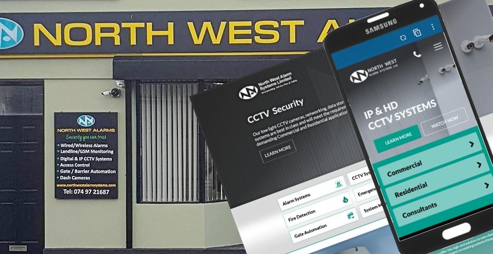 security company website design